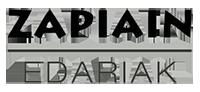 Zapiain Edariak Logo